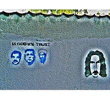 The Secret Zappa Fans Photographic Print