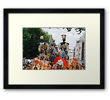 Notting Hill Carnival  London Framed Print