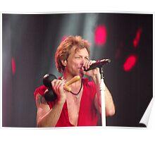 Bon Jovi at Hyde Park 4 Poster