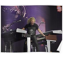 Bon Jovi at Hyde Park - David Bryan Poster