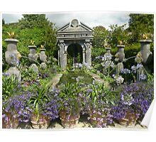 Arundel Castle gardens Poster