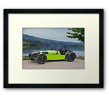 Lotus 'Dirkin Super 7' Framed Print