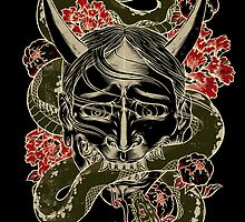 Ink Icons 1 : Hanya Mask by RoyalBlood
