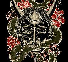 Ink Icons 1 : Hanya Mask by RoyalBlood