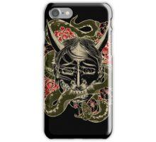 Ink Icons 1 : Hanya Mask iPhone Case/Skin