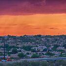 Sunset Construction by Judi FitzPatrick