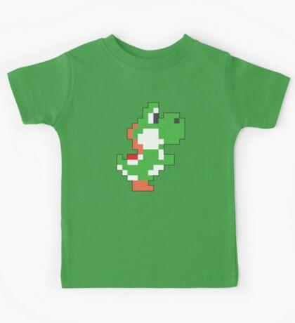 Super Mario Maker - Yoshi Costume Sprite Kids Tee
