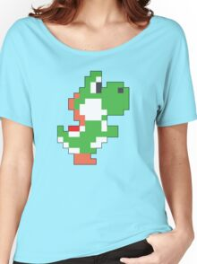 Super Mario Maker - Yoshi Costume Sprite Women's Relaxed Fit T-Shirt