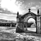 The Guardian Angel Chapel in ponte de Lima by vribeiro