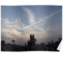 Bon Jovi at Hyde Park - Captain Crash Confetti Poster