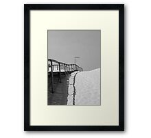 Aveiro Beach Framed Print