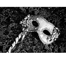 Black & White Party Photographic Print