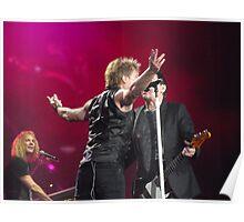 Bon Jovi at Hyde Park - Pretty Woman Poster
