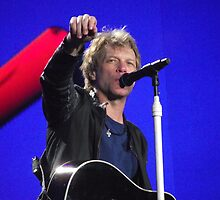 Bon Jovi at Hyde Park 1 by WalkerboyUK