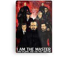 I Am The Master Metal Print