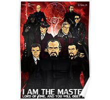 I Am The Master Poster