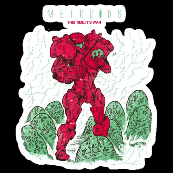 Metroids by MeleeNinja