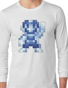 Super Mario Maker - Silver Mario Costume Sprite Long Sleeve T-Shirt