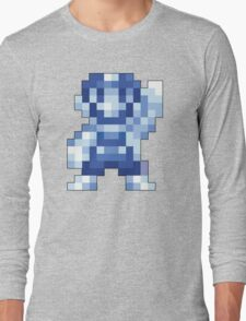 Super Mario Maker - Silver Mario Costume Sprite Long Sleeve T-Shirt