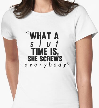 - John Green. Womens Fitted T-Shirt