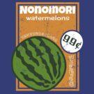 Nonomori Watermelons by OrangeRakoon