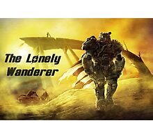 The Lonely Wanderer Photographic Print