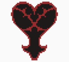 Pixel Heartless Symbol by Flaaffy
