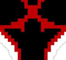 Pixel Heartless Symbol Sticker