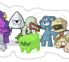 Nuclear Throne - Fish - Cartoon Characters - HIGH QUALITY Sticker