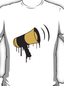 Speaker Graffiti T-Shirt