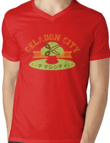 Celadon City Gym Mens V-Neck T-Shirt