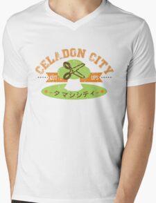 Celadon City Gym Mens V-Neck T-Shirt