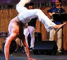 Capoeira On Stage by Heather Friedman