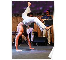 Capoeira On Stage Poster
