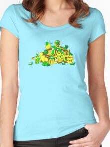 Collect Them All Women's Fitted Scoop T-Shirt