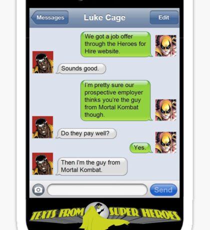 Heroes for Hire - Mortal Kombat Sticker