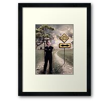 There's more than one way Framed Print