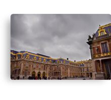 Versailles Courtyard Canvas Print