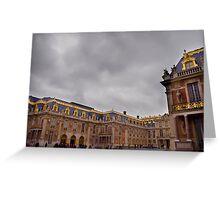 Versailles Courtyard Greeting Card