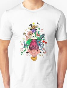 Nuclear Throne - Character Totem Pole - HIGH QUALITY T-Shirt