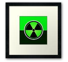 The Hulk Logo Symbol Framed Print