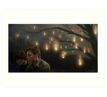 Light a Candle Art Print