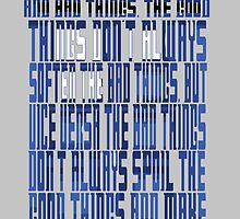 TARDIS Quote: The 11th Doctor by Kattypanda