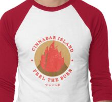 Cinnabar Island Gym Men's Baseball ¾ T-Shirt