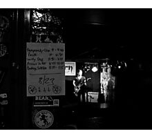 The Night's Aces Photographic Print