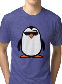Chillax Penguin Tri-blend T-Shirt