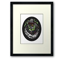 Nuclear Throne - Chicken's Descent into Madness - HIGH QUALITY Framed Print