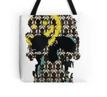 Sherlock's Skull and Wallpaper Tote Bag