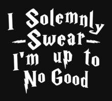 i solemnly swear that i am up to no good by Belvile