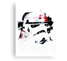 Star Wars Clone Helmet Canvas Print